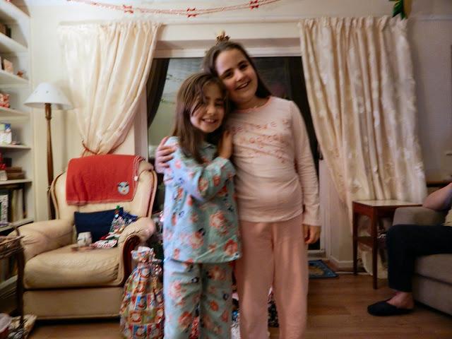 Christmas Eve - sisters