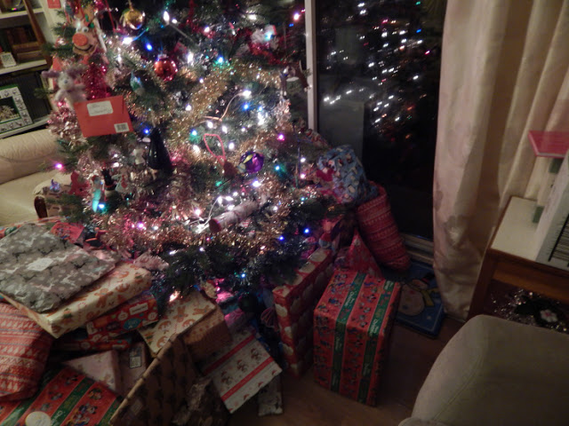 Christmas Day - presents under the tree
