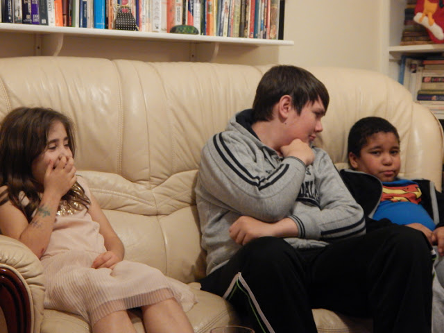Christmas Eve - Ella, Stewart and his brother