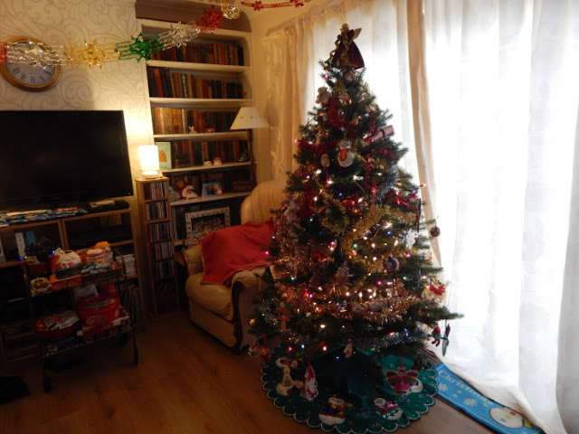 New Christmas Tree in the daytime