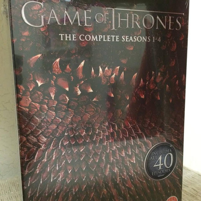 Game of Thrones season 1-4 boxset