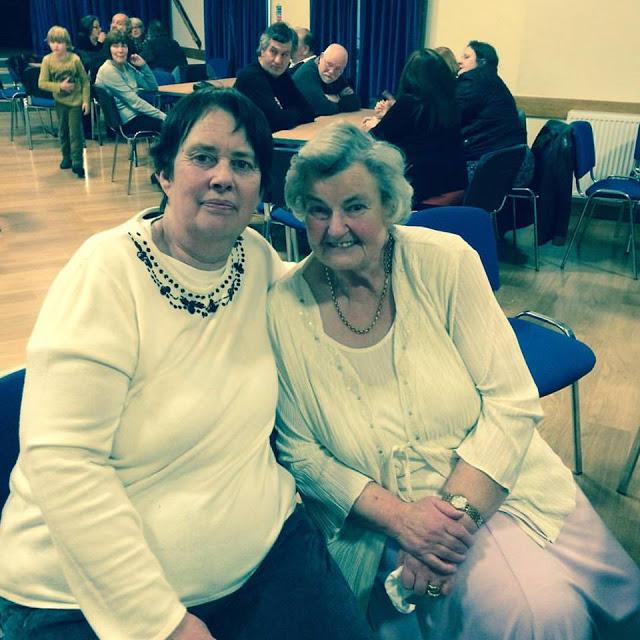 My mum and grandmother at my mum's 60th birthday party