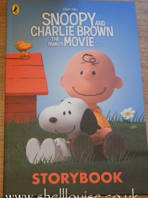 snoopy and charlie brown movie book
