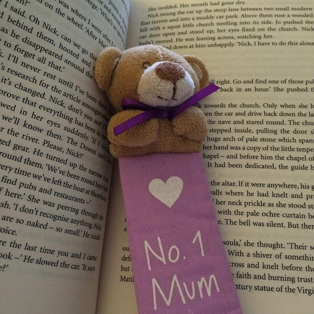 Book and No. 1 Mum teddy bookmark - 1 day, 12 pics