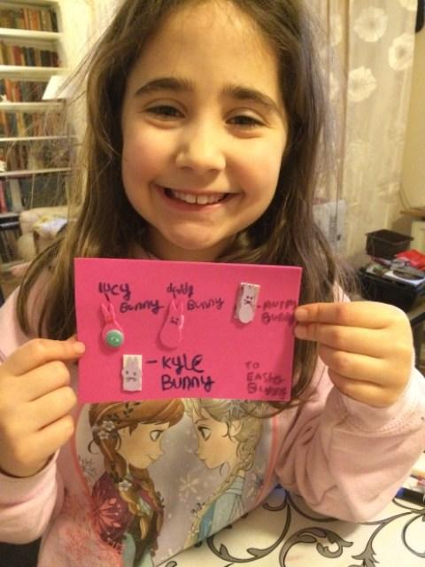 Ella's Easter crafts - Easter activity