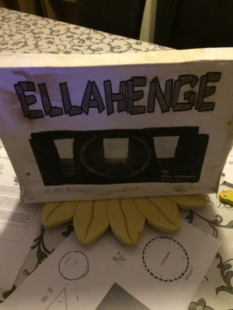 School project Stonehenge model by Ella