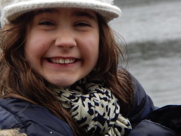 Close up of Ella at Hartsholme park