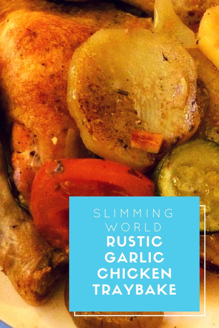 Rustic garlic chicken traybake slimming world recipe