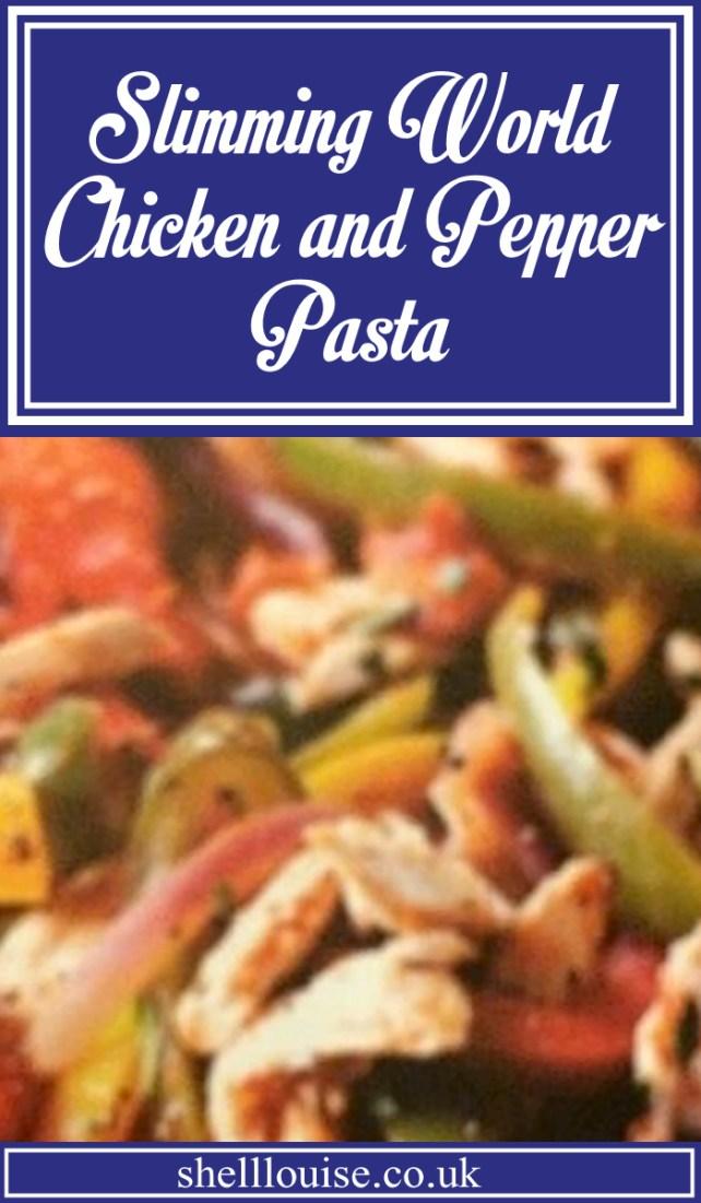 Slimming World Chicken And Pepper Pasta