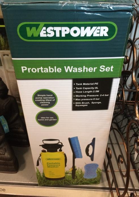 HomeSense portable washer set