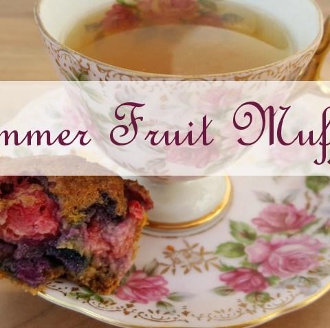 summer fruit muffins