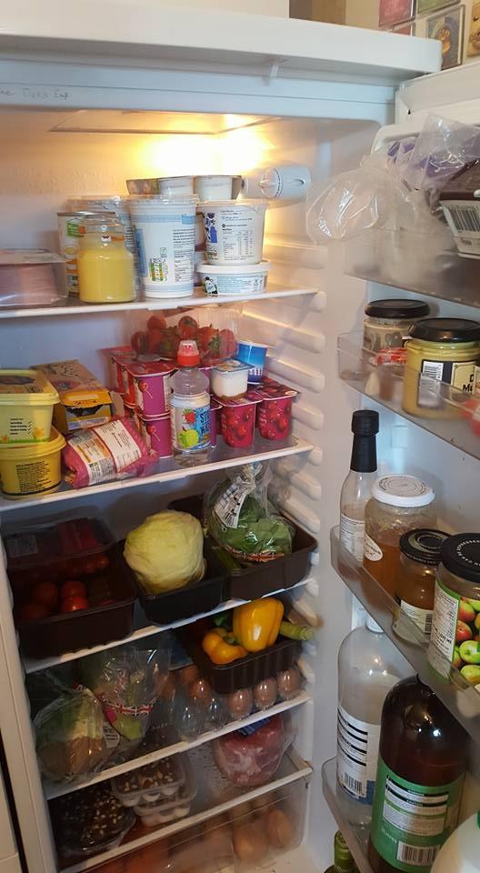 my fridge contents