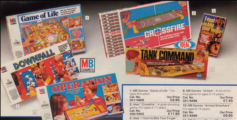 Argos catalogue Game of Life