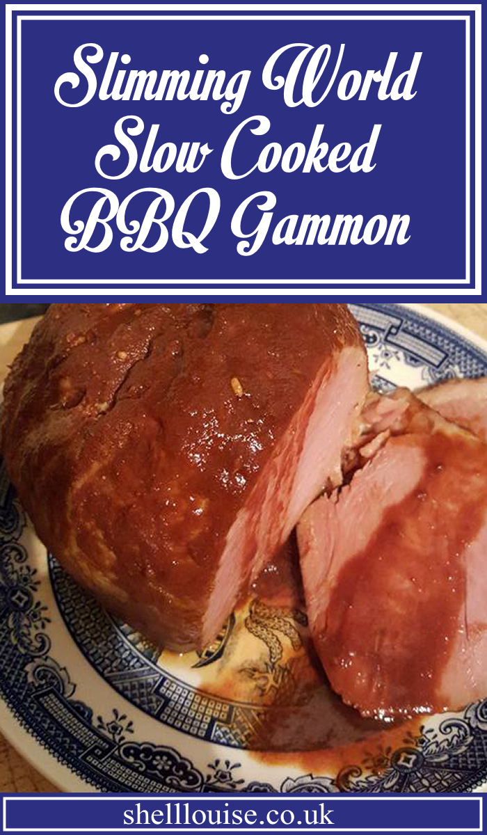 Slimming World Slow Cooked BBQ Gammon