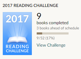 Goodreads reading challenge book 9 After Anna