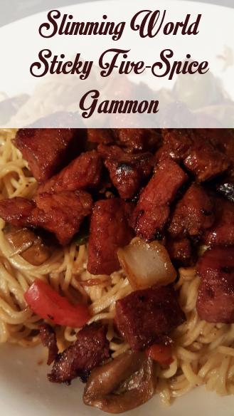 Slimming World Sticky Five Spice Gammon
