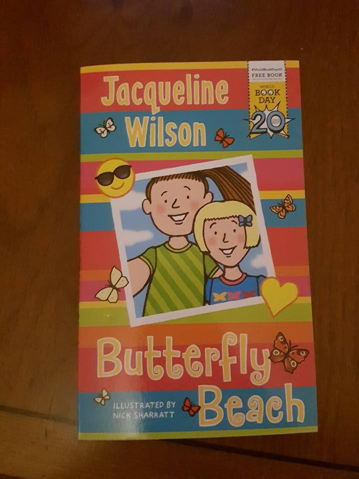 Jacqueline Wilson Butterfly Beach book