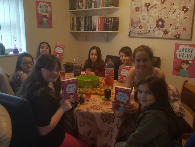 Jacky Ha-Ha book club