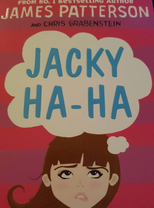 Jacky Ha-Ha book by James Patterson and Chris Grabenstein