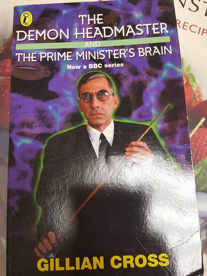March 25th The Demon Headmaster book