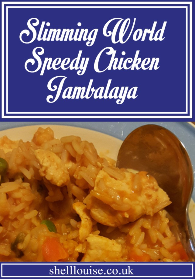 Speedy Chicken Jambalaya Slimming World Recipe