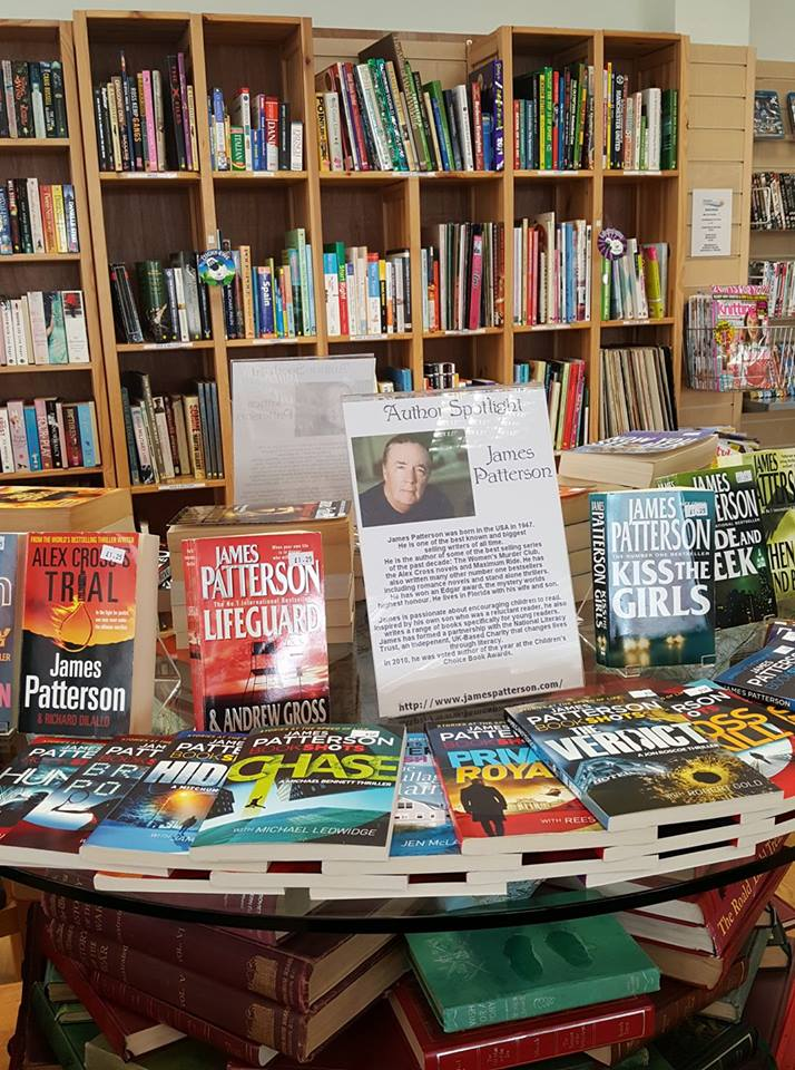 Author spotlight James Patterson
