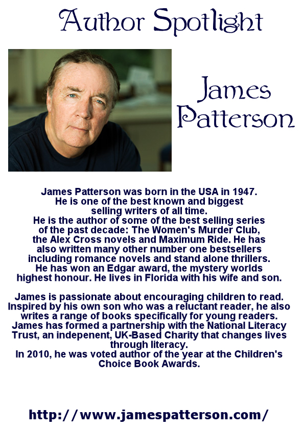 Author Spotlight Book Display James Patterson