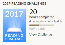 Goodreads 20 books completed