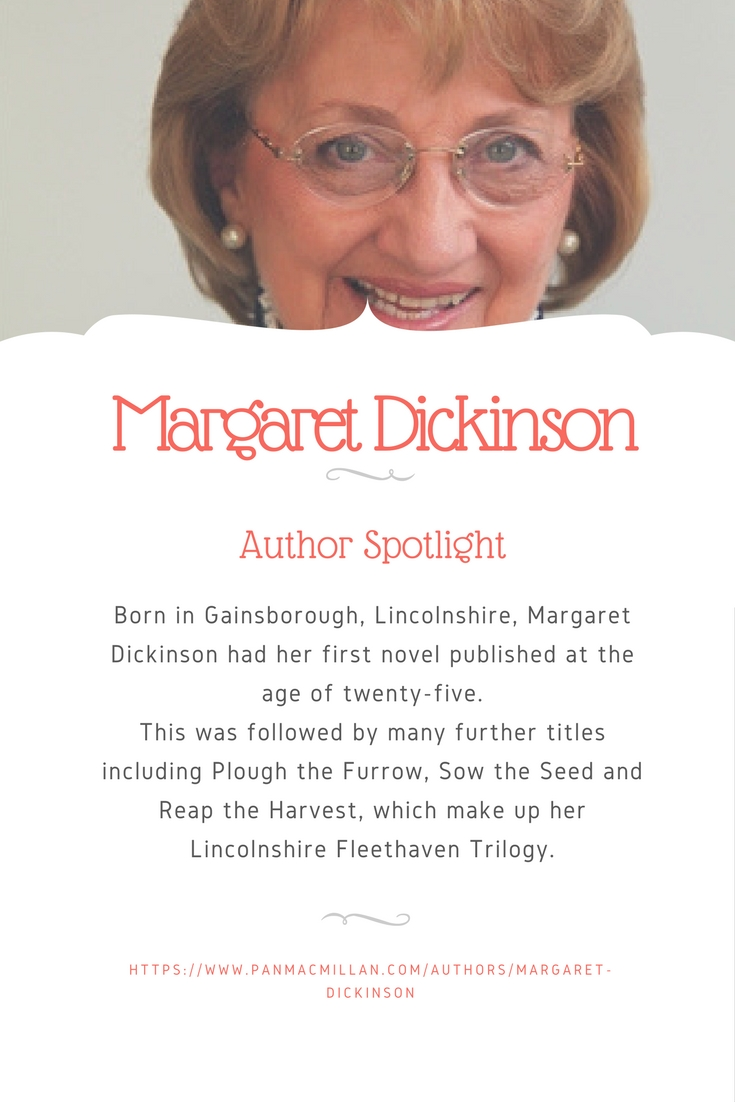 author spotlight Margaret Dickinson Book Display Posters