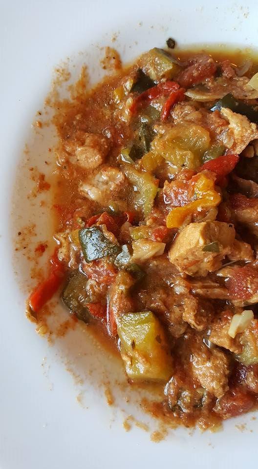Rich Pork And Vegetable Ragu