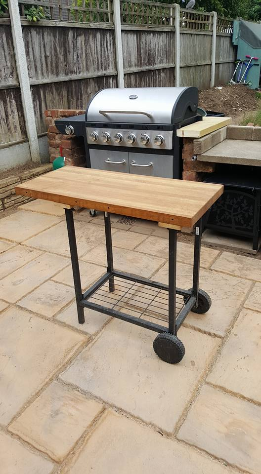 upcycled trolley