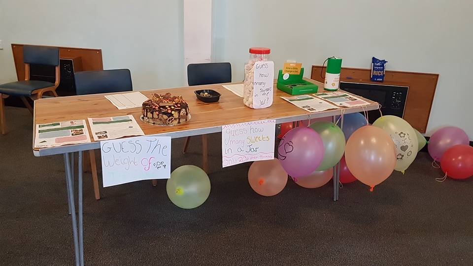 NSPCC fun day stalls