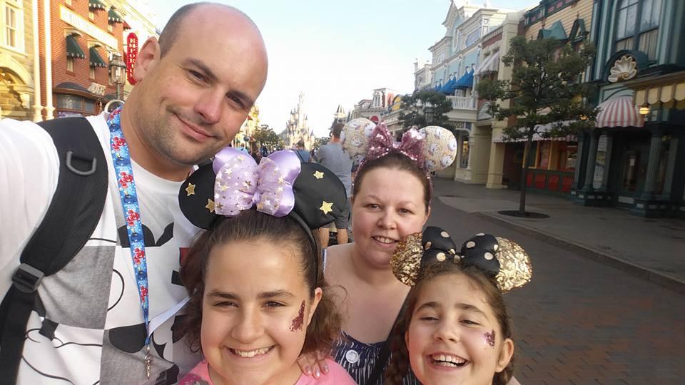 Ian, Kellyann, Kaycee and Ella