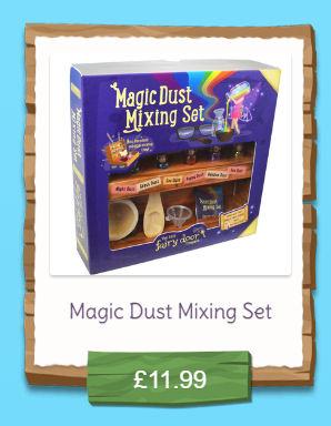 magic dust mixing kit