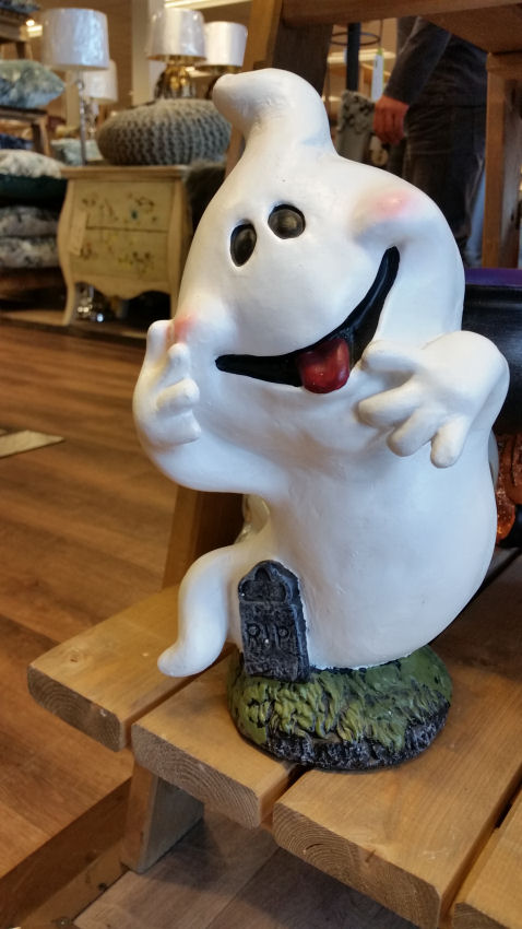 Ghost ornament at HomeSense Halloween