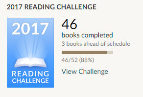 Goodreads reading challenge 2017 46 books read