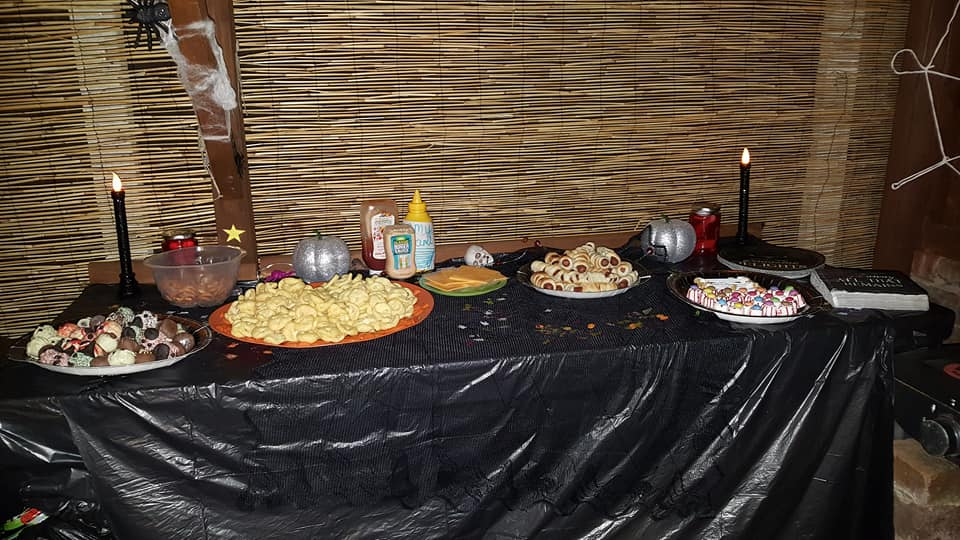 Halloween 2017 party food