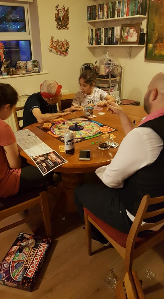 Playing Monopoly jackpot