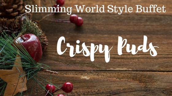 crispy chocolate Christmas puddings