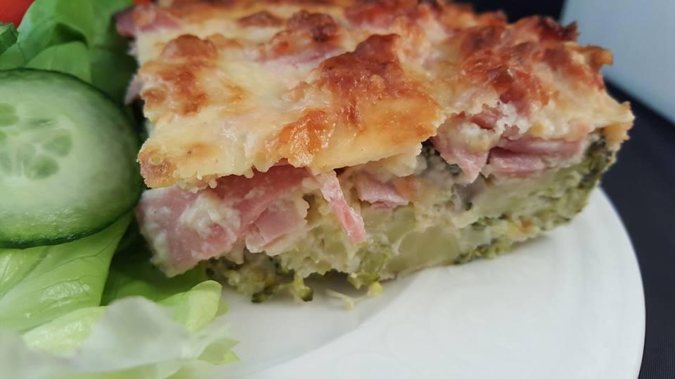 Ham And Broccoli Quiche – Slimming World Buffet
