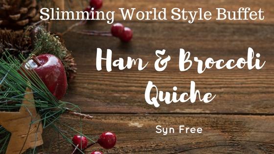 ham and broccoli crustless quiche