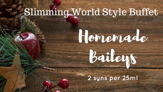 Low Syn Homemade Baileys