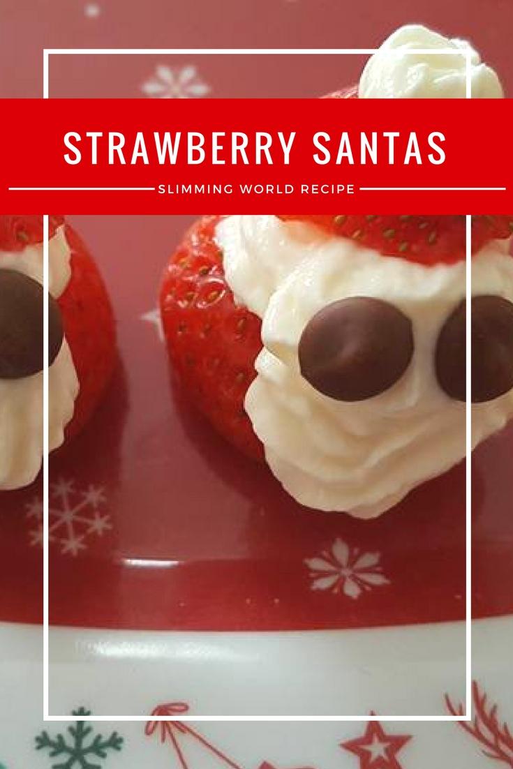 Strawberry Santas