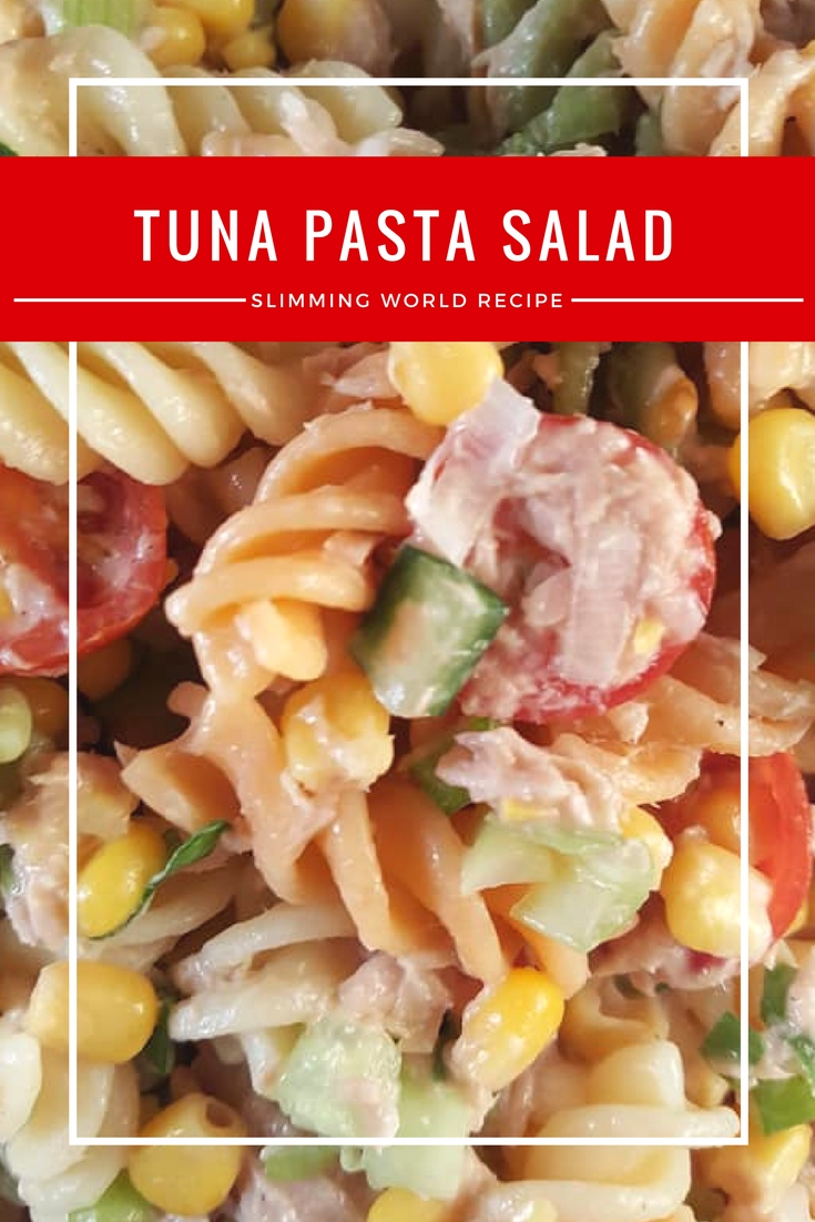 Slimming World tuna pasta salad