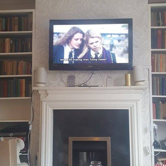 January 2018 1 day 12 pics - Wtching Derry girls