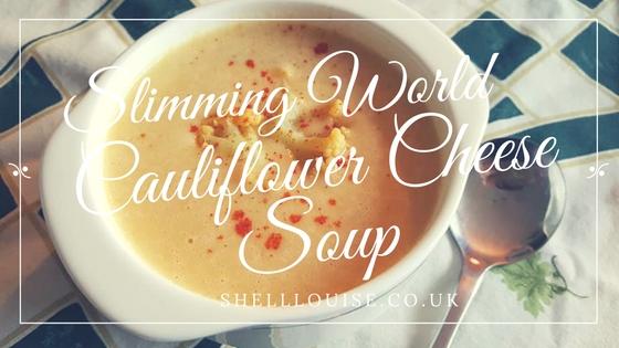 cauliflower cheese soup slimming world recipe