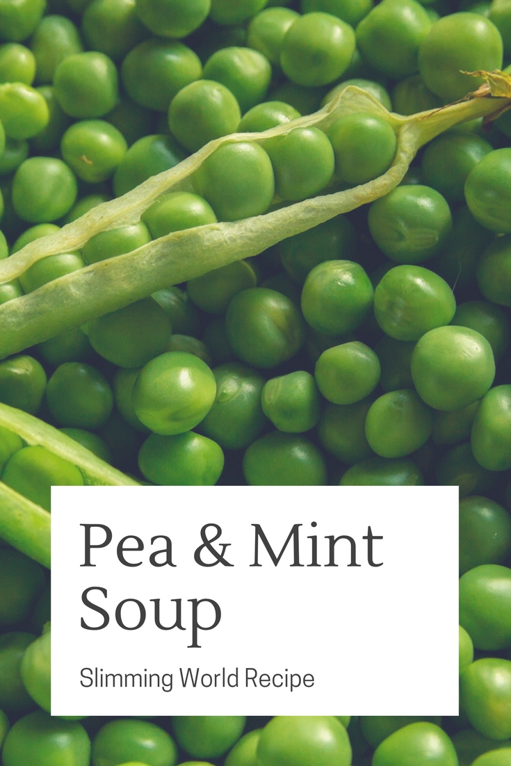 pea and mint soup slimming world recipe