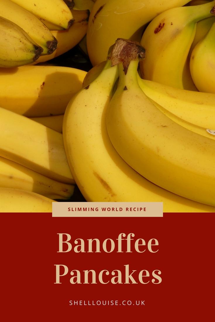 banoffee pancakes slimming world recipe