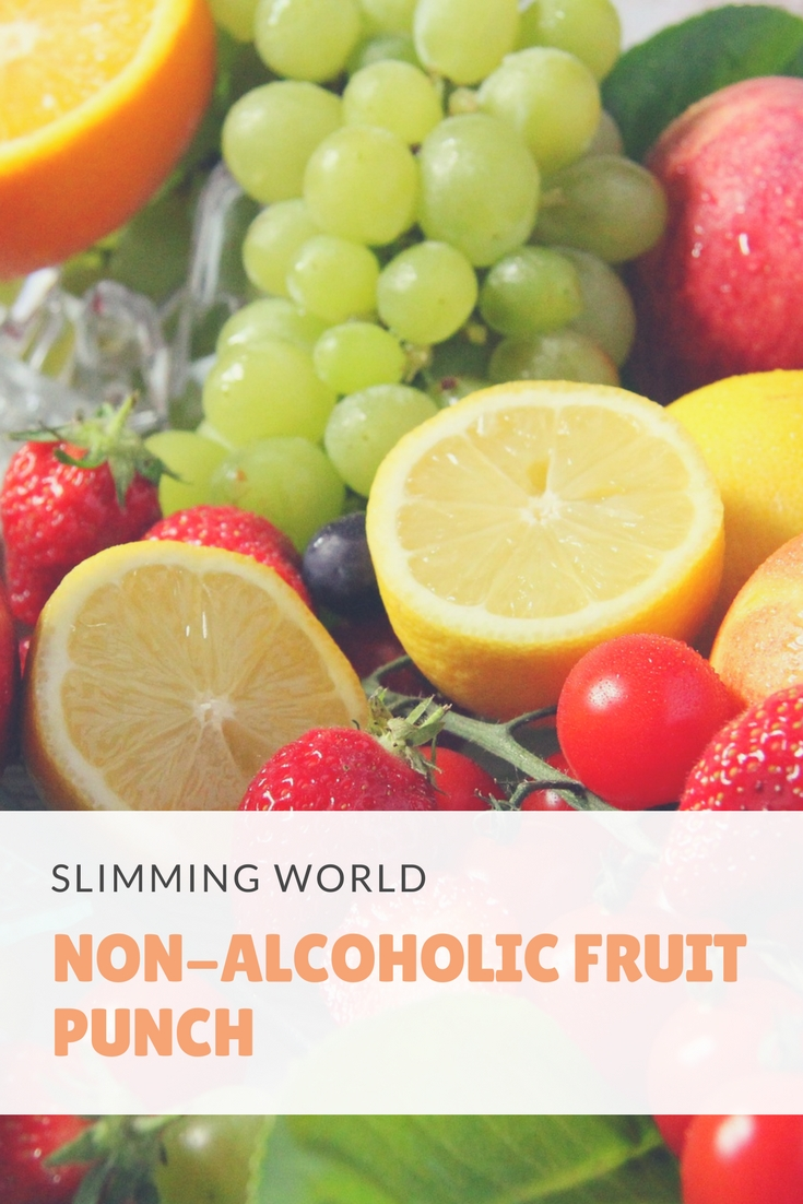non-alcoholic fruit punch