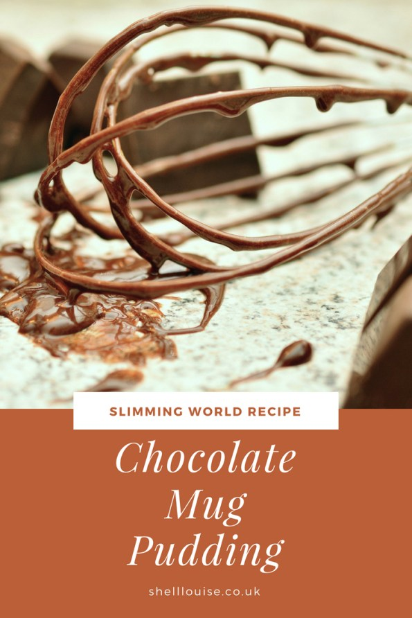 Chocolate mug pudding - Slimming World recipe